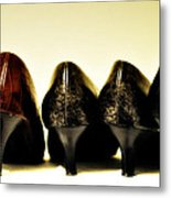 Her Shoes Metal Print