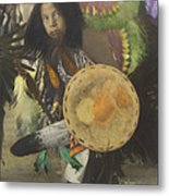 Heratige #1-young Traditional Dancer Metal Print
