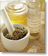 Herbal Medicine Metal Print