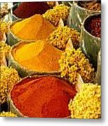 Herbs And Spices Metal Print