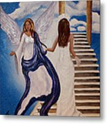 Here Comes The Bride Metal Print