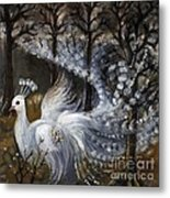 Here Comes The Mist Metal Print