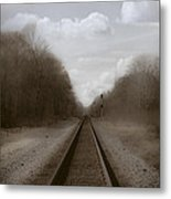 Here That Train Metal Print