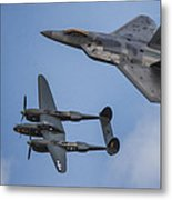 Here You Go Air Force Metal Print by Jeff Swanson
