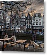 Kaizersgracht 451. Amsterdam. Holland Metal Print