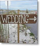 Here's The Wedding Metal Print