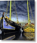 Heritage In Mirrored Water Metal Print