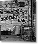 Herman Had It All Bw Metal Print