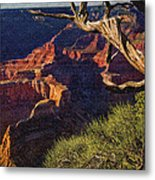 Hermit Rest Grand Canyon National Park Metal Print