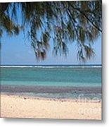 Hermitage - Ile De La Reunion - Reunion Island - Indian Ocean Metal Print by Francoise Leandre