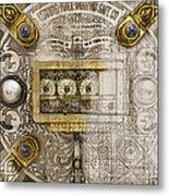 Herring Hall Marvin Co. Bank Vault Door Lock Metal Print