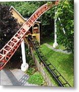 Hershey Park - Storm Runner Roller Coaster - 12121 Metal Print by DC Photographer