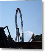 Hershey Park - Storm Runner Roller Coaster - 12124 Metal Print by DC Photographer