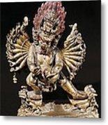 Hevajra. 18th C. Buddhist Tantric Metal Print