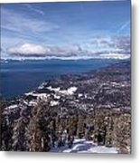Hevenly Ski Resort In South Lake Tahoe Metal Print