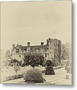 Hever Castle Yellow Plate 2 Metal Print