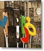 Hewitt Sculpture Metal Print