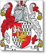 Hewson Coat Of Arms Irish Metal Print