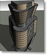 Triagonal Building 3 Metal Print