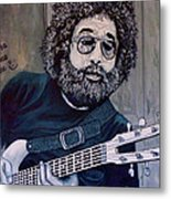 Hey Now - Blue Jerry Metal Print