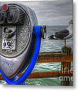 Hey Somebody Look At Me Metal Print by Bob Christopher