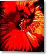 Hibiscus Metal Print by Mark Malitz