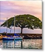 Hickam Harbor View Metal Print by Lisa Cortez
