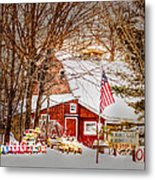 Hickory Lake Woodworks Metal Print