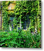 Hidcote Windows Metal Print