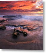 Hidden By The Tides Metal Print