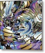 Hidden Chaos Of Order Metal Print