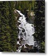 Hidden Falls Jenny Lake Metal Print