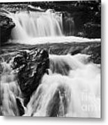 Hidden Falls Sheep River 1 Metal Print