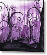 Hidden Hearts Metal Print