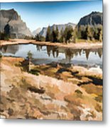 Hidden Lake Trail Glacier National Park Metal Print