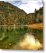 Hidden Paradise Suluklu Gol  Suluklu Lake Metal Print