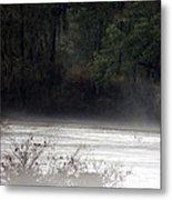 Hidden Places-beyond The Water Metal Print