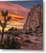 Hidden Valley Rock - Joshua Tree Metal Print