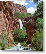 Hidden Waterfalls Metal Print