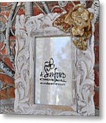 Hide And Chic Metal Print by Amanda  Sanford