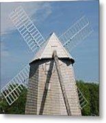Higgins Farm Windmill Metal Print