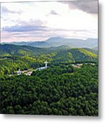 High Country 1 In Wnc Metal Print