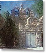 High Desert Church Metal Print