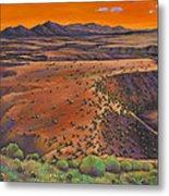 High Desert Evening Metal Print