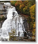 High Falls In The Dupont State Forest Metal Print