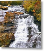 High Falls Metal Print by Scott Norris