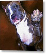 High Four Metal Print
