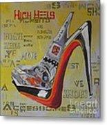 High Heels  Metal Print