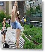 High Line Exhibitionist Metal Print