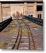 High Line Spur Metal Print